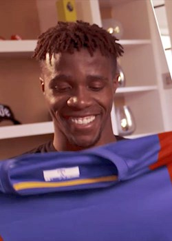 Zaha: Palace shirt could use a few rips
