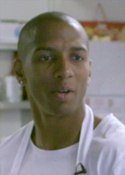 Ashley Young learns to cook Singapore noodles