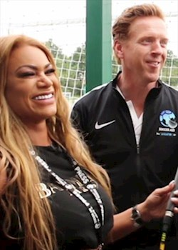 Soccer Aid stars Damian Lewis, Jamie Redknapp, Dan Carter on superstitions