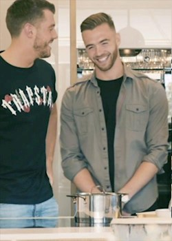 Calum Chambers in the Football Kitchen