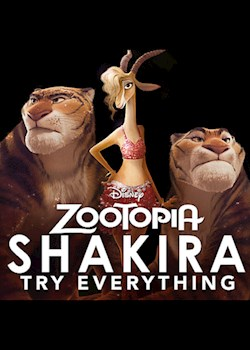 """Shakira - Try Everything (From """"Zootopia"""")"""