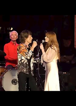 The Rolling Stones - Wild Horses (ft. Florence Welch) (Live)