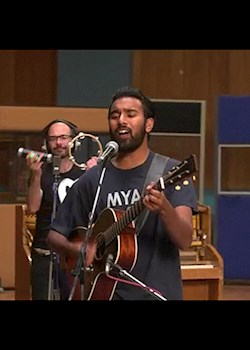 Himesh Patel & Lily James - I Want To Hold Your Hand (Tracks On The Tracks Sessions)