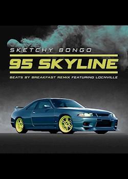 Sketchy Bongo - 95 Skyline (ft. Locnville) [beats by breakfast remix]